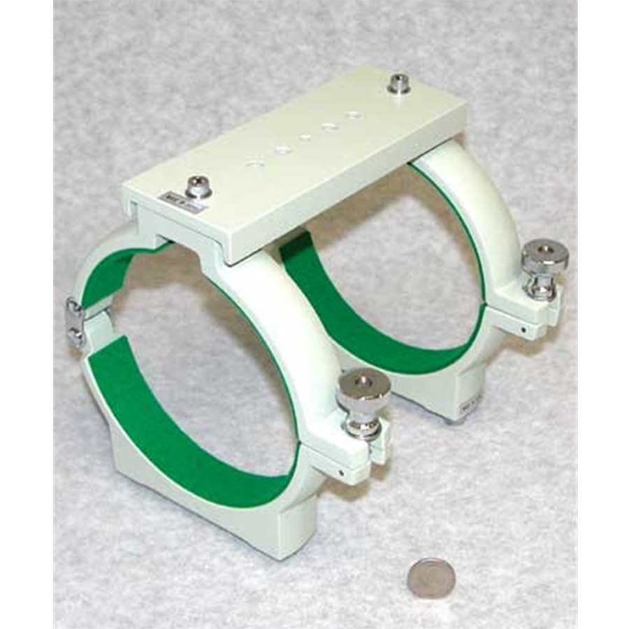 Dual ring tube holder for TOA-150, with bridge