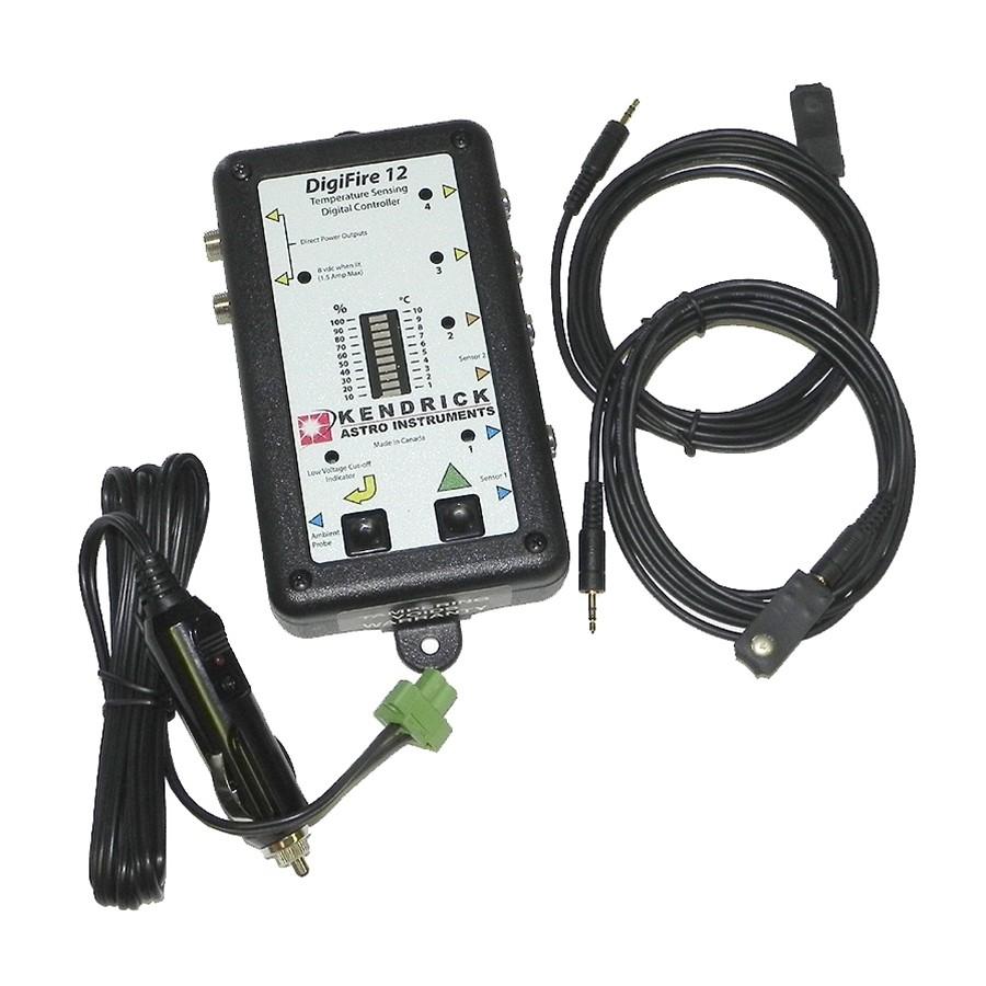 Kendrick DigiFire 12 four channel/six output temperature-sensing digital  heater controller