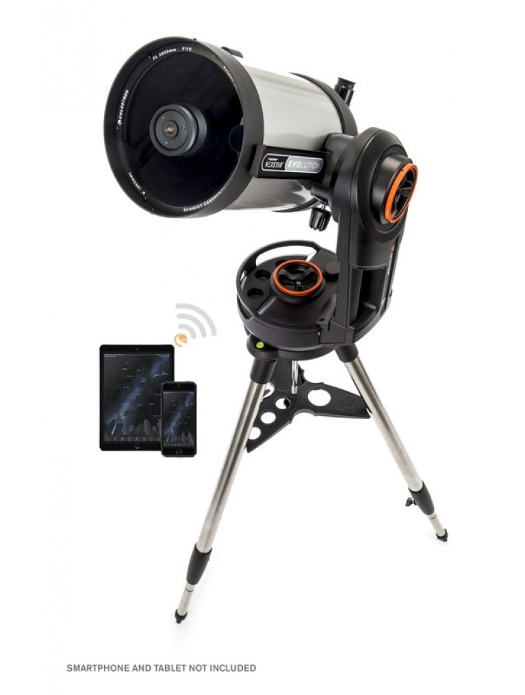 "Celestron NexStar Evolution 8 8"" f/10 wireless go-to SCT"