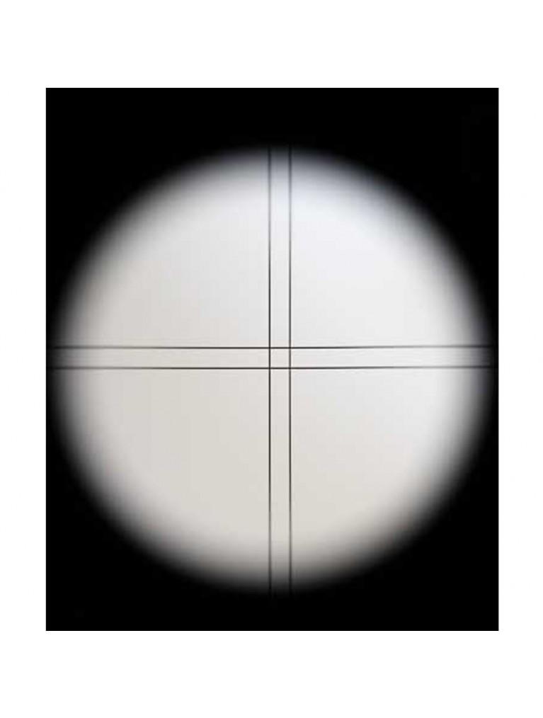 7.5 X 50mm illuminated black right angle correct image finder