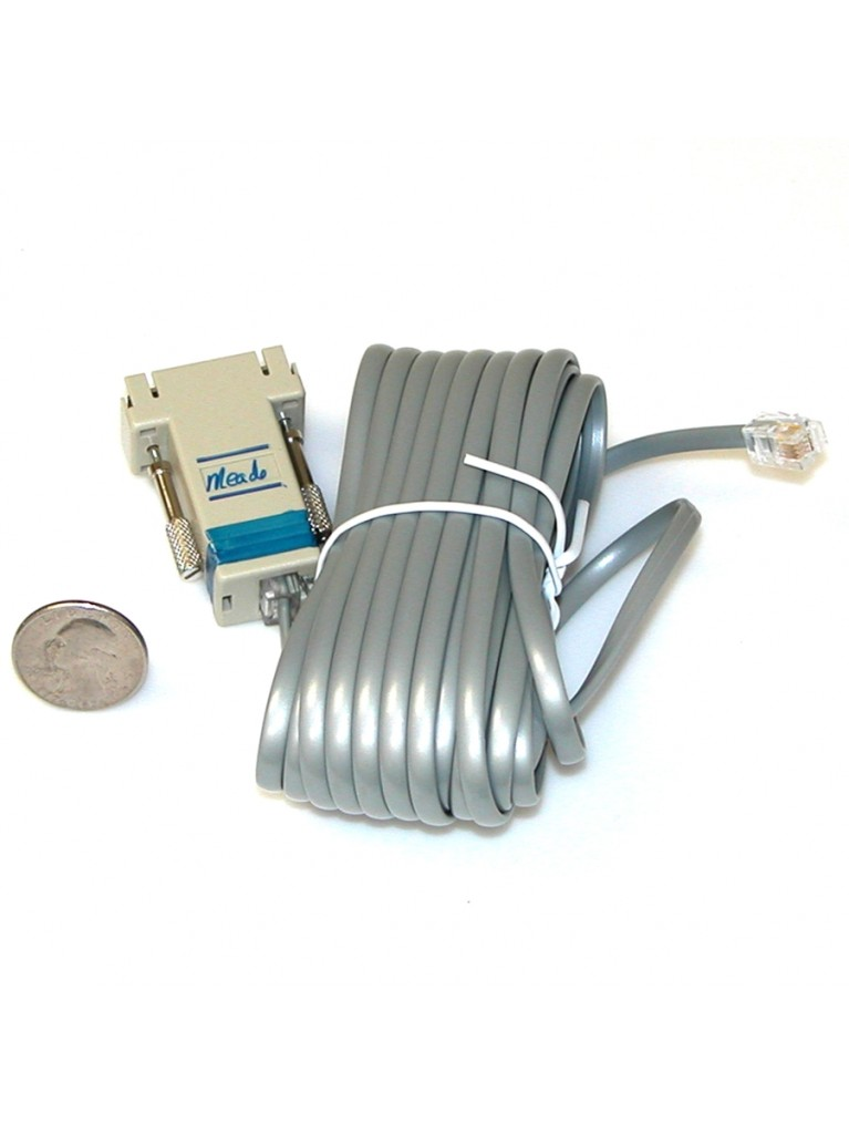 25' PC To ETX/LXD-75/LX90 serial interface cable only