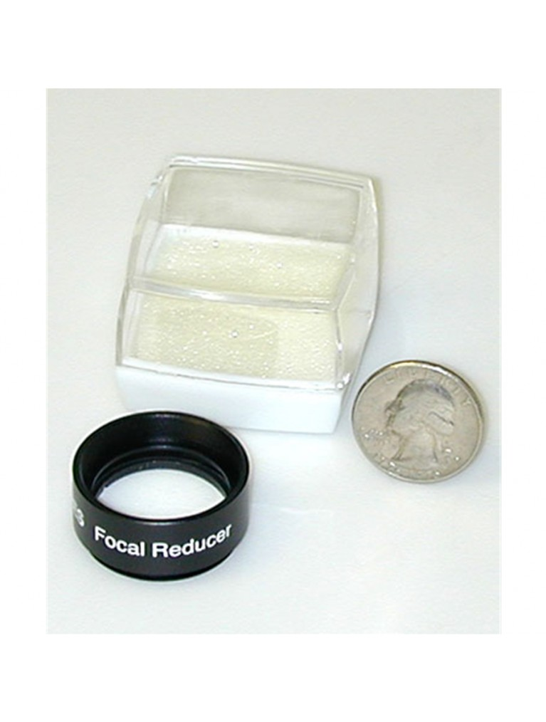 0.5X focal reducer for Celestron, Meade, and Orion CCD imaging cameras