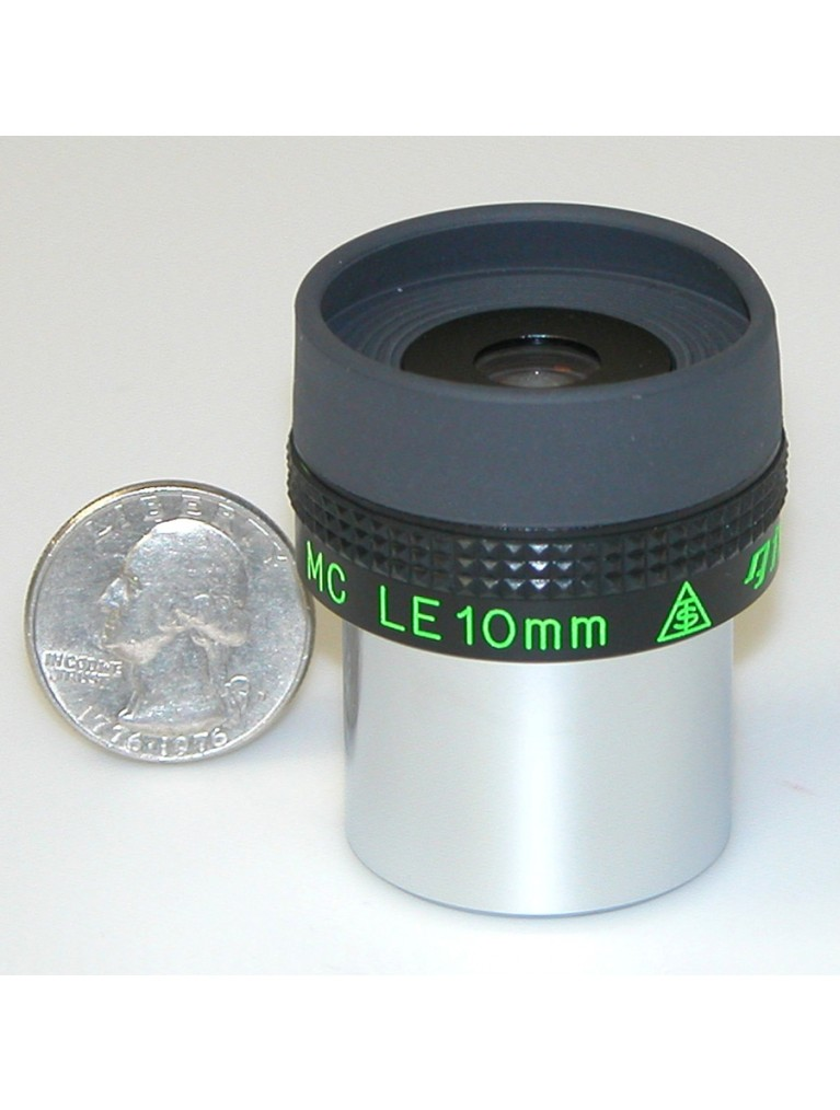 "10mm 1.25"" long eye relief"