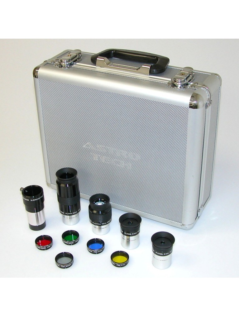 """Kit of 1.25"""" eyepieces and visual accessories"""