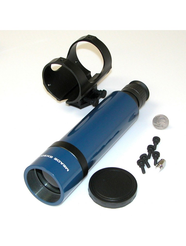 #828 8 X 50mm blue finder with quick-release bracket
