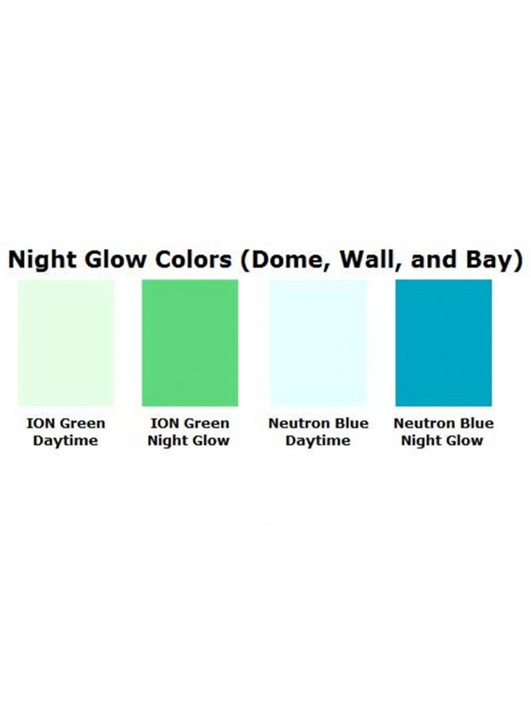 Add glow-in-the-dark Ultra Glow color to the walls & equipment bays | PODXL1, XL2, or XL3