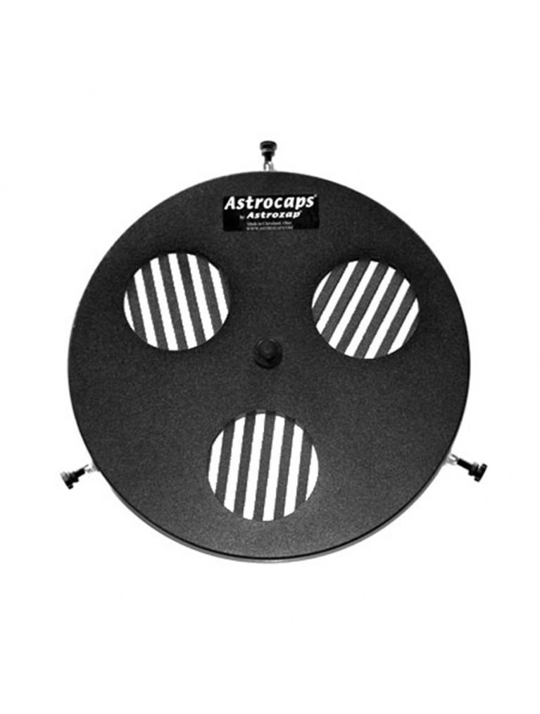 Focusing cap w/ built-in Bahtinov focusing mask for most 152mm aperture refractors