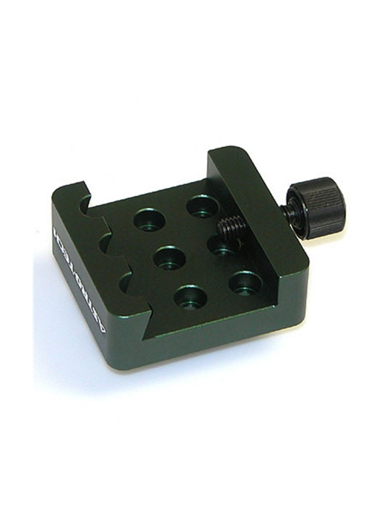 Dovetail accessory adapter for Vixen-style dovetails, black