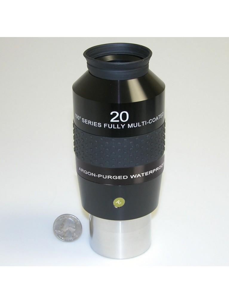 "20mm 100° field waterproof 2"" eyepiece"