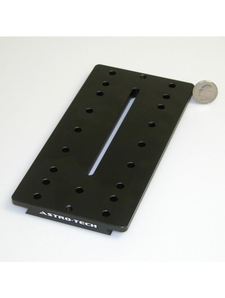 "7.9"" Losmandy-Style ""D-plate"" short universal dovetail plate, black"