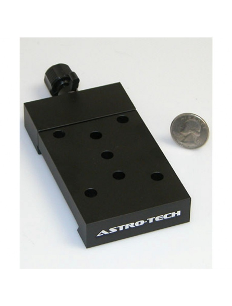 "Dovetail accessory adapter for Losmandy-style ""D-plate"" dovetails, black"