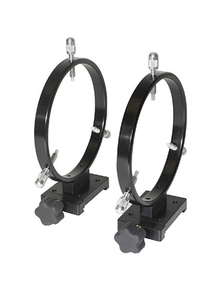 160mm finder/photoguide ring set for Meade Series 5000 dovetails