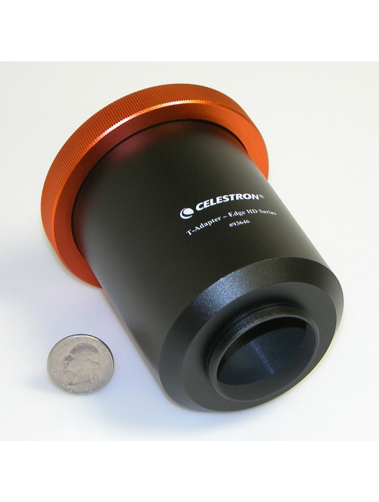 "T-Adapter for Celestron 9.25"", 11"", and 14"" EdgeHD telescopes"