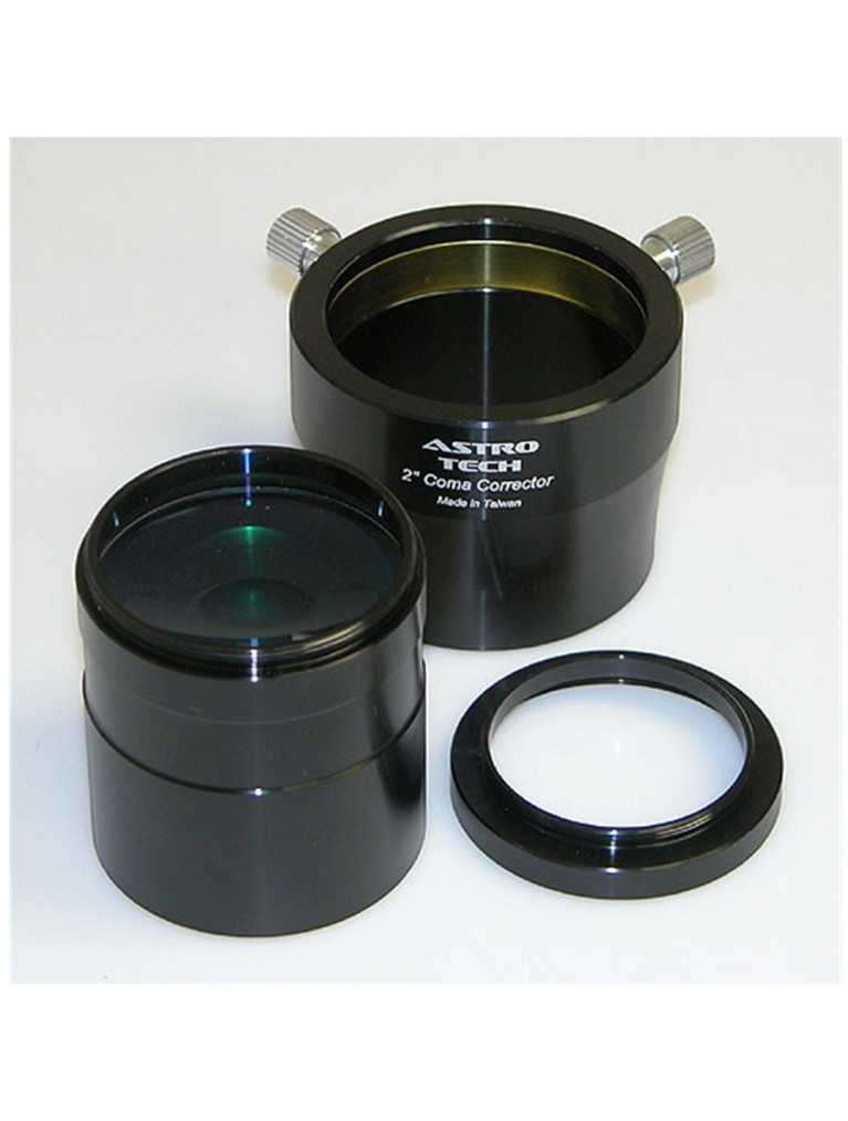Photo-visual Coma Corrector & field flattener for fast focal ratio Newtonian reflectors