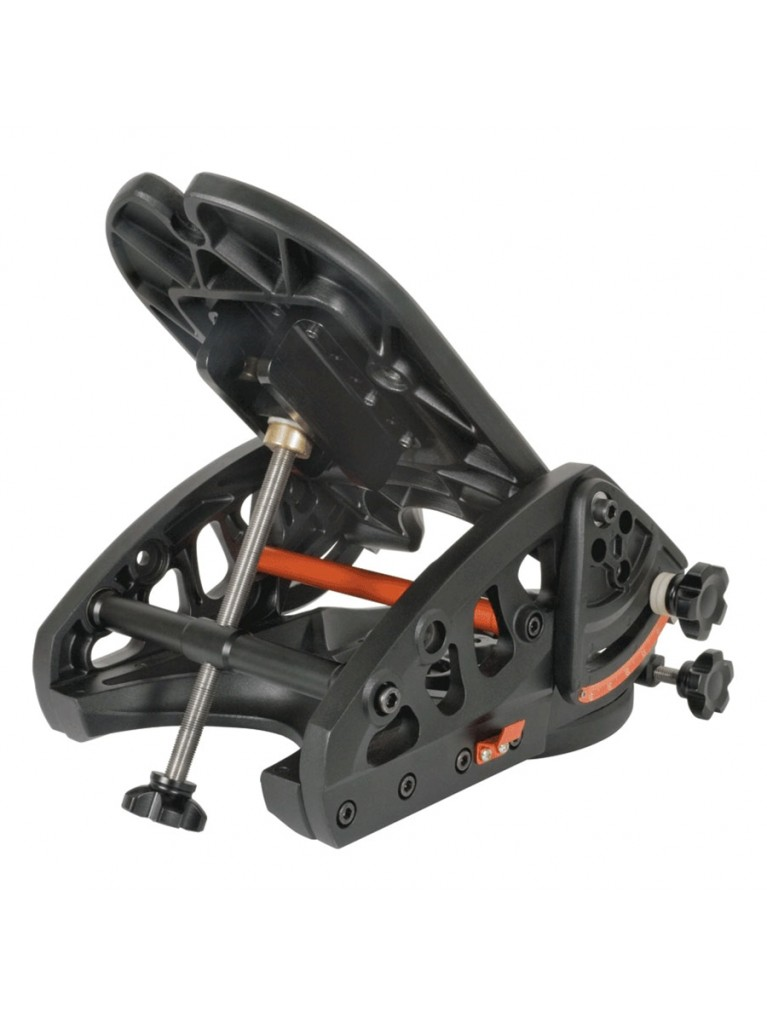Heavy duty HD Pro equatorial wedge for fork-mounted Celestron SCTs