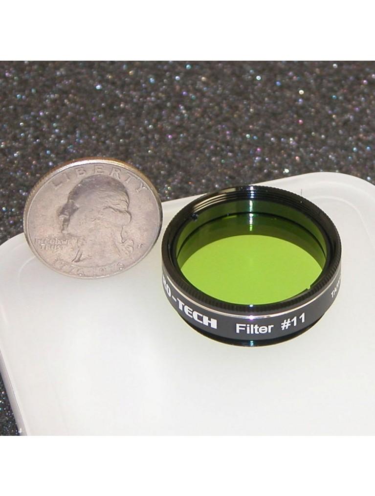 """Astro-Tech #11 Yellow-green 1.25"""" color filter"""