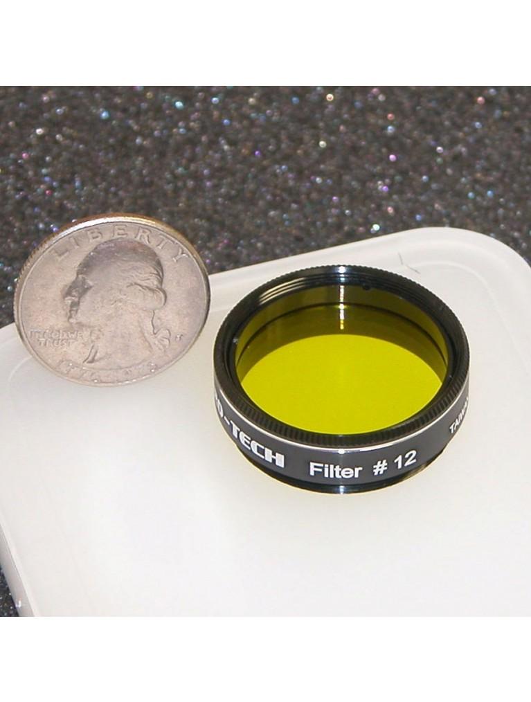 "#12 Medium yellow 1.25"" color filter"
