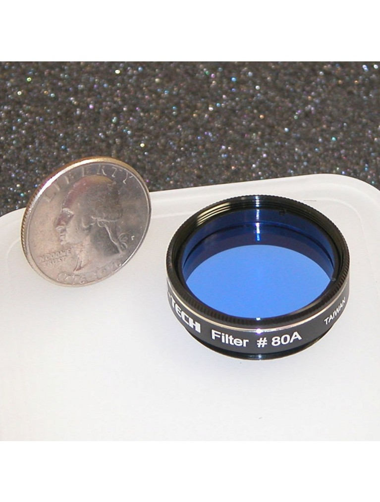 """#80A Medium blue 1.25"""" color filter"""