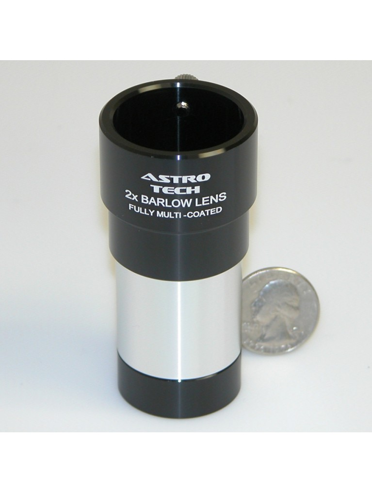 "2X achromatic Barlow for 1.25"" eyepieces"