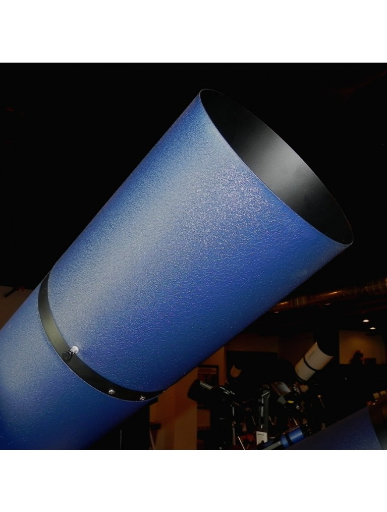 """For current Meade 8"""" LX90 and LX200 catadioptrics, textured matte blue finish"""