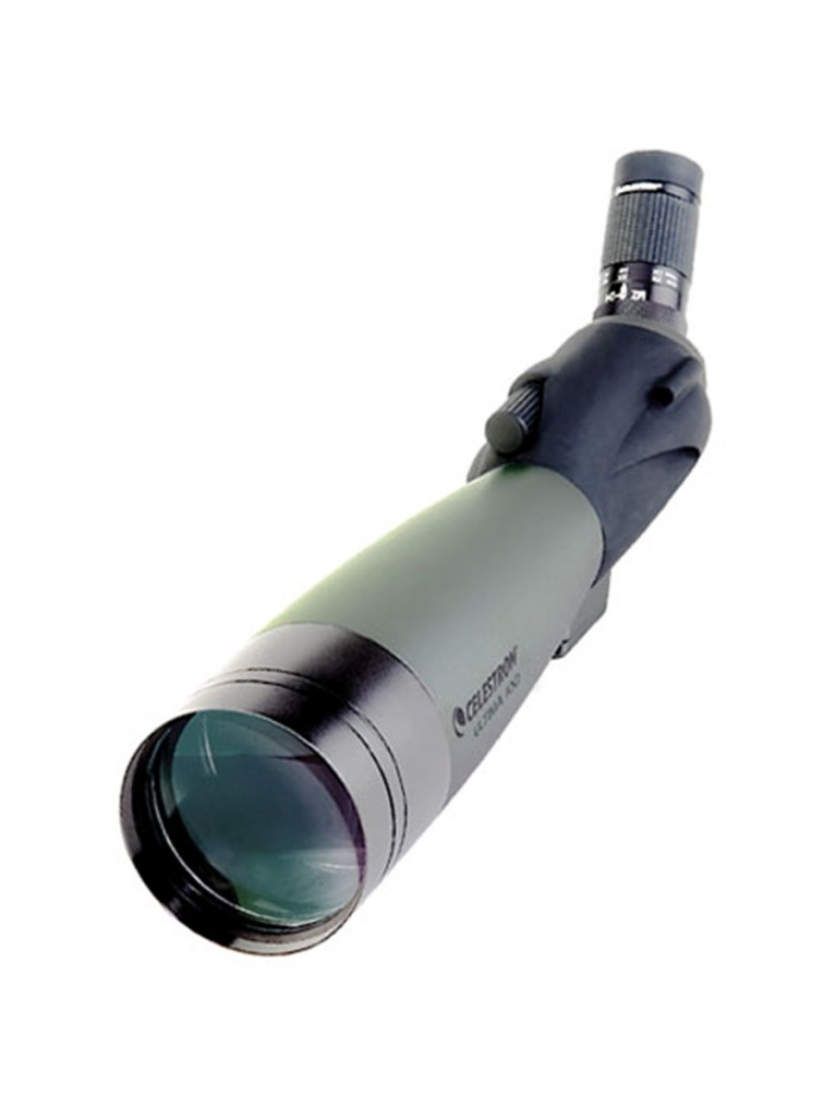 Ultima 100 Angled viewing 100mm spotting scope, 22-66x zoom