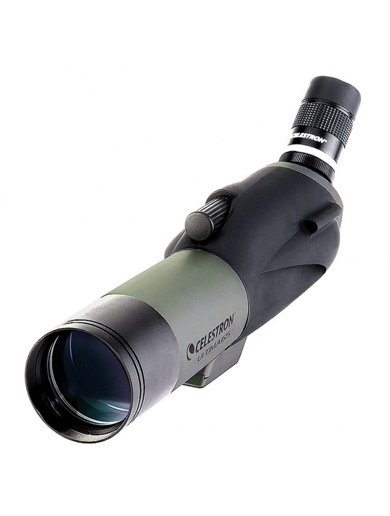 Ultima 65 Angled viewing 65mm scope, 18-55x zoom