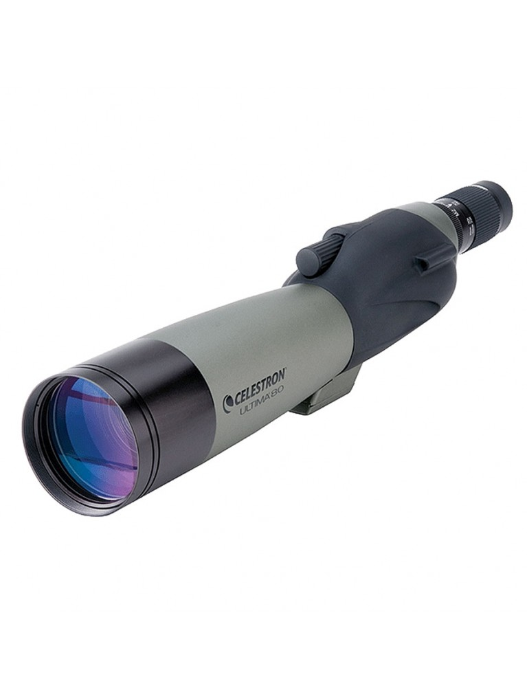 Ultima 80 Straight viewing 80mm scope, 20-60x zoom