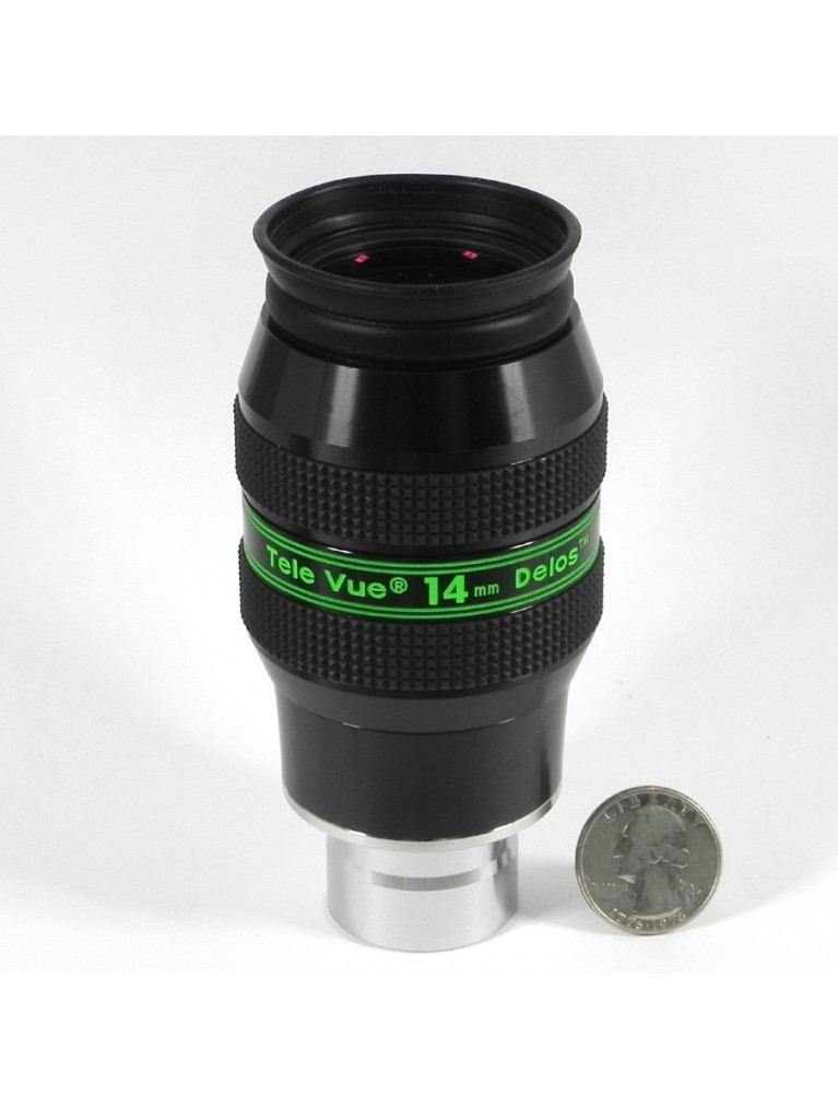 "14mm 1.25"" 72° field Delos"