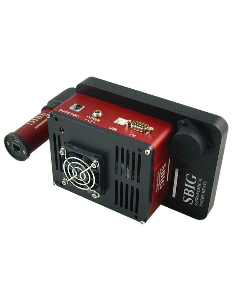 STF-8300M self-guiding 8.3 MP mono | off-axis | filter wheel | ST-i color guider package