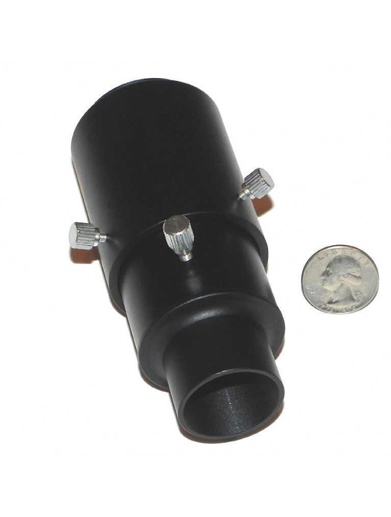 "1.25"" prime focus/variable eyepiece projection adapter, needs T-ring"