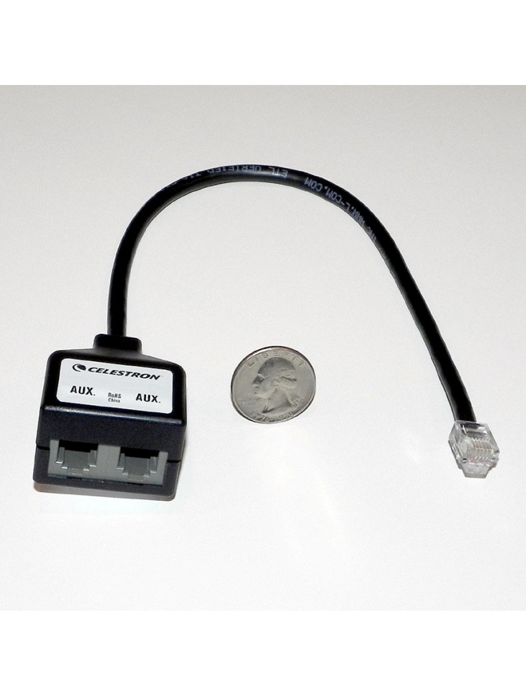auxiliary port splitter