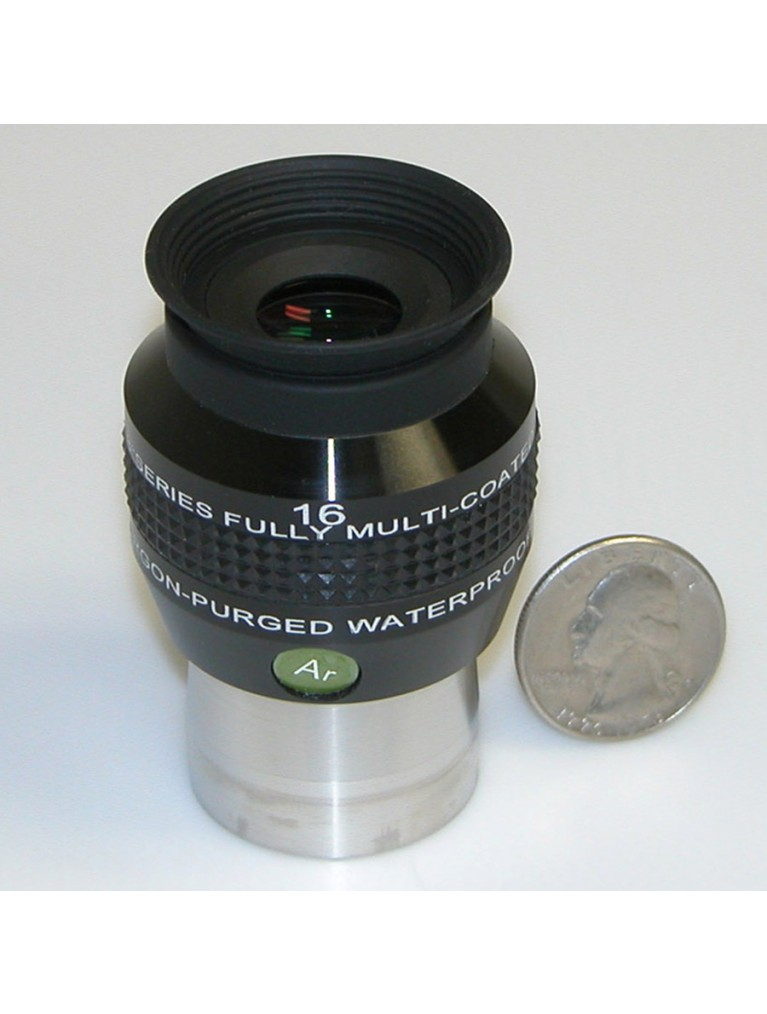 "16mm 68° field argon-purged waterproof 1.25"" eyepiece"