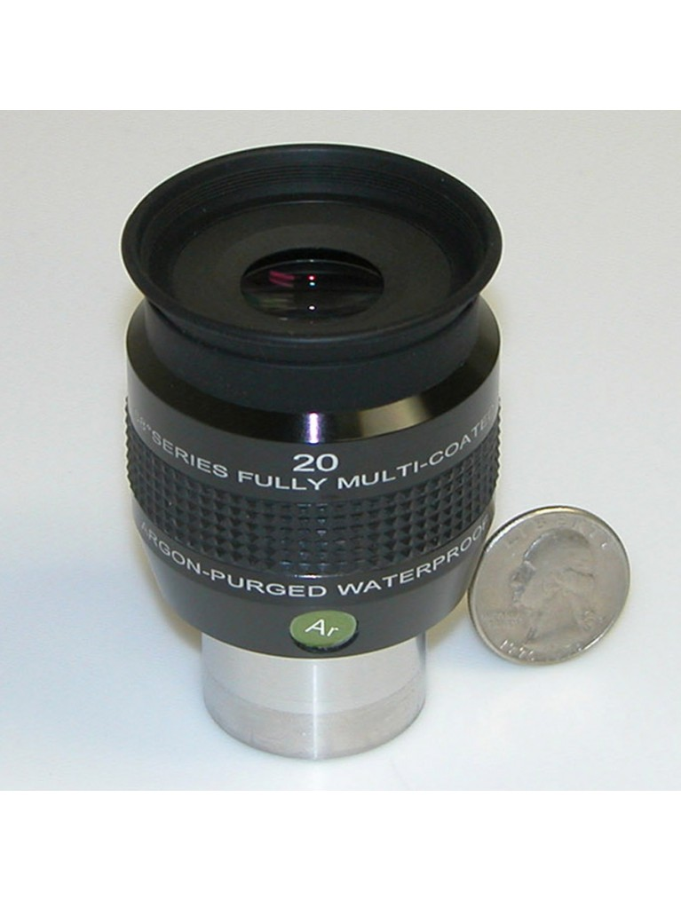 "20mm 68° field argon-purged waterproof 1.25"" eyepiece"
