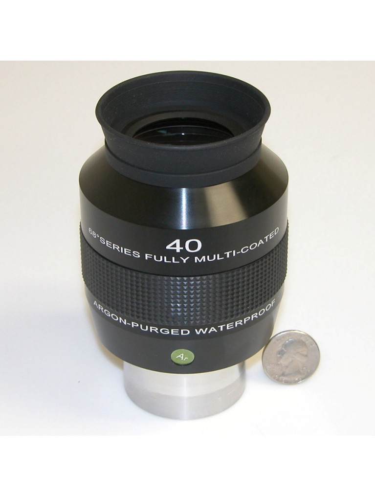 "40mm 68° field argon-purged waterproof 2"" eyepiece"