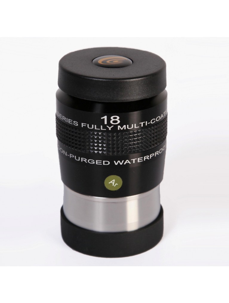"18mm 82° field argon-purged waterproof 2"" eyepiece"