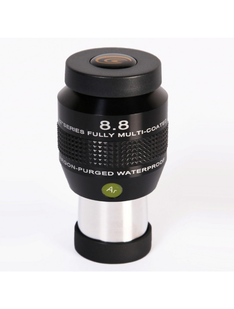 "8.8mm 82° field argon-purged waterproof 1.25"" eyepiece"