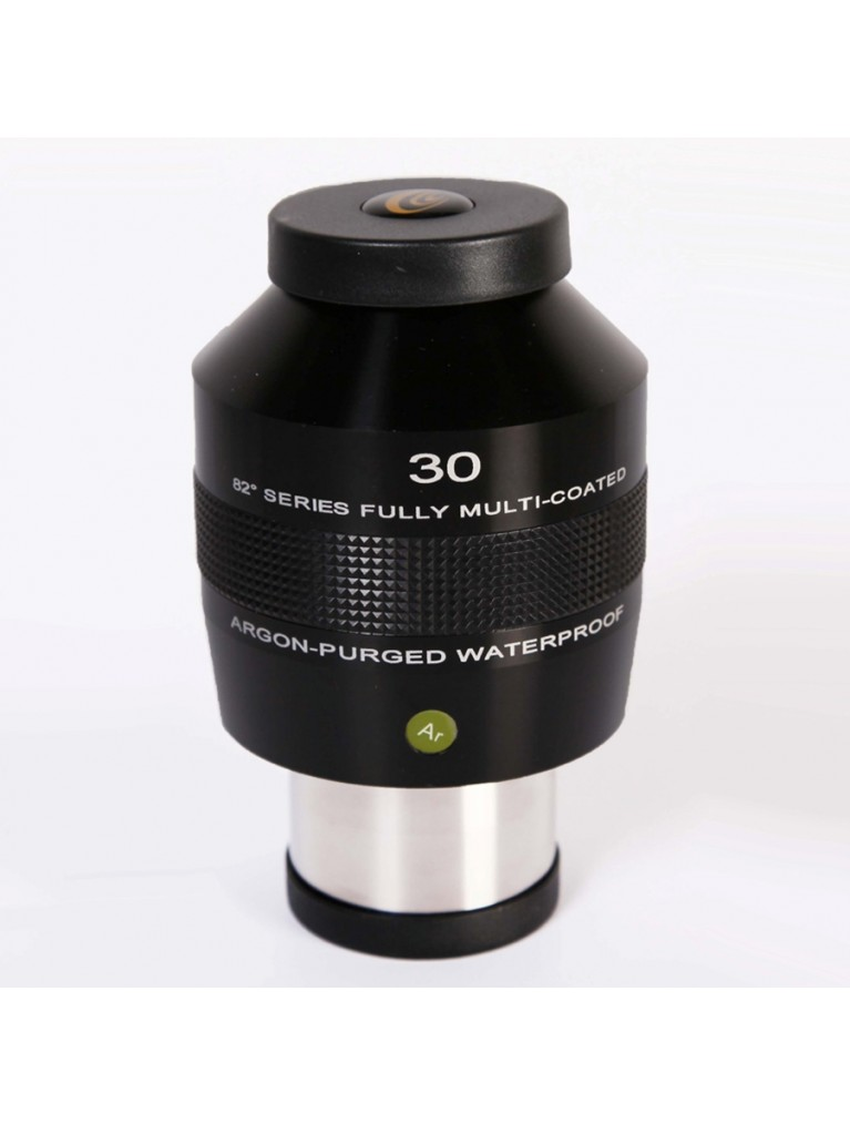 "30mm 82° field argon-purged waterproof 2"" eyepiece"