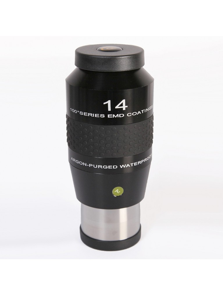 "14mm 100° field argon-purged waterproof 2"" eyepiece"