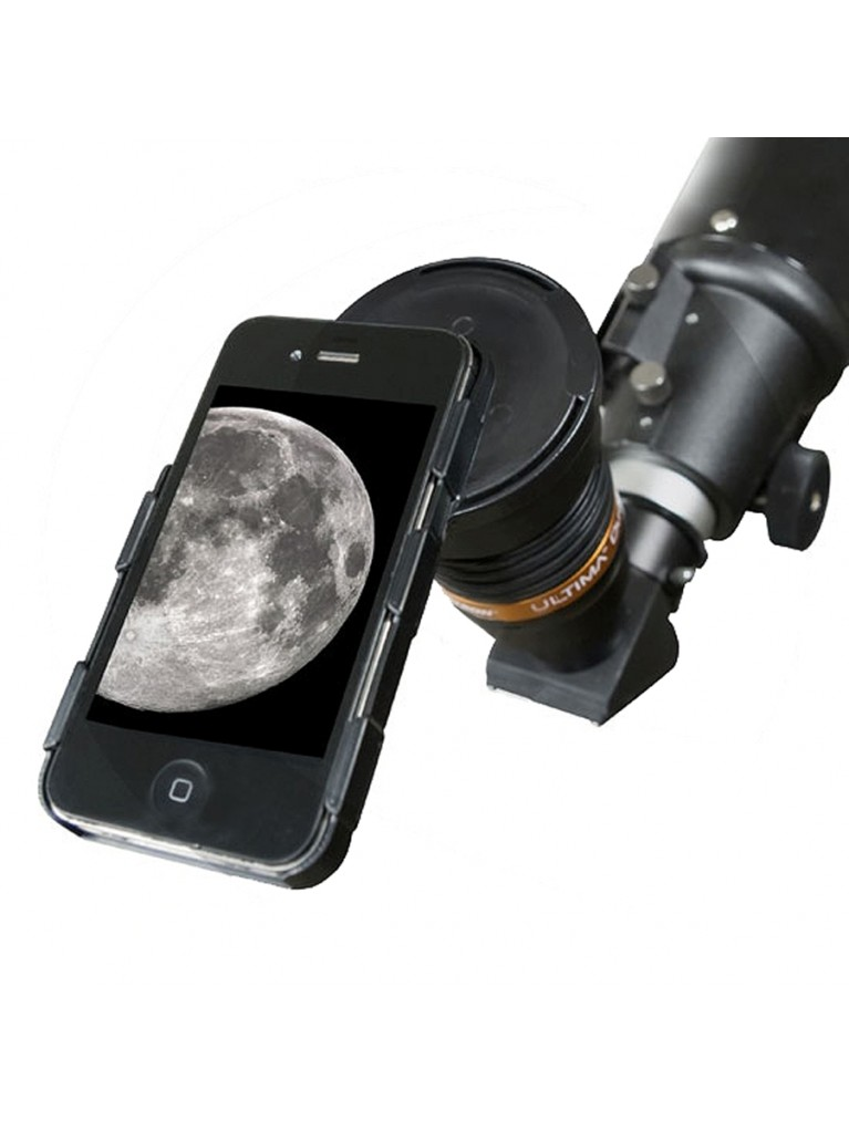 Ultima Duo eyepiece to Apple iPhone 4 or 4S imaging adapter