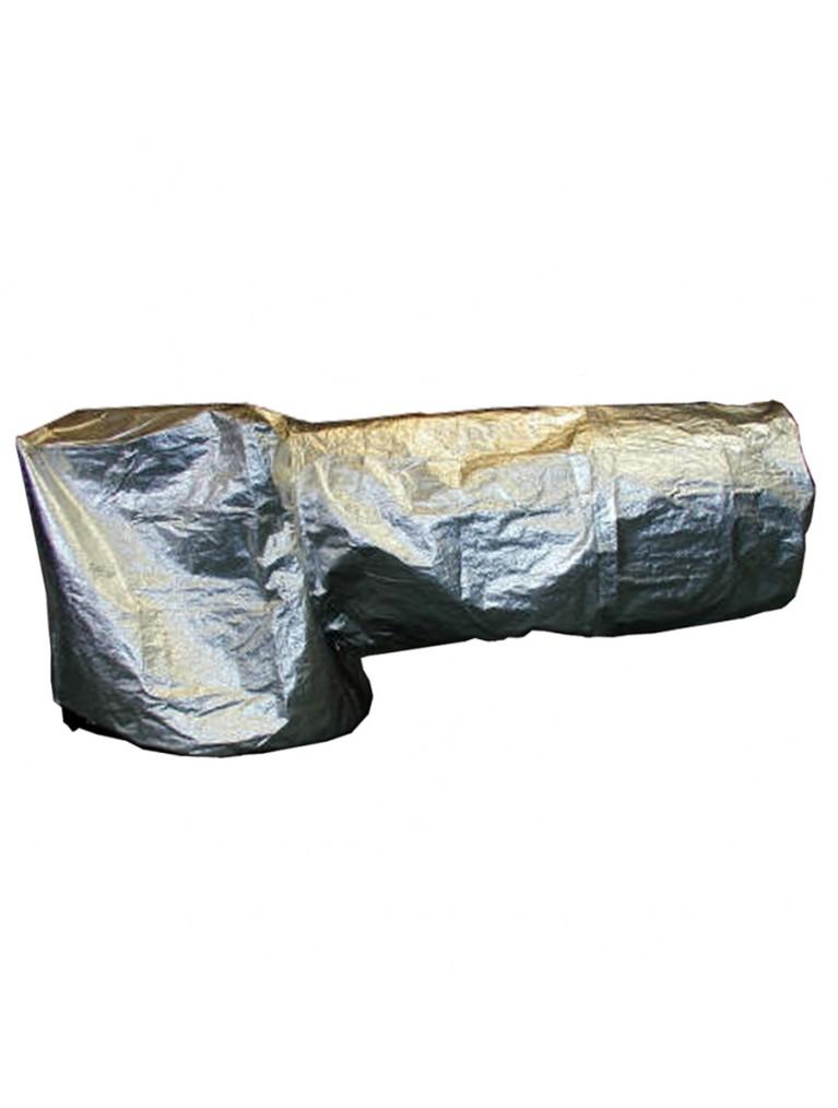 """Dust cover for horizontally-parked Meade 16"""" LightBridge Dobsonian"""