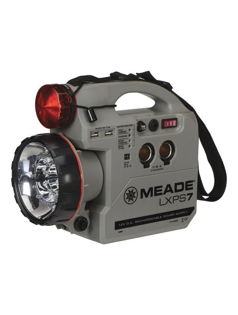 Meade LXPS7 7 Amp-hour 12V DC rechargeable battery