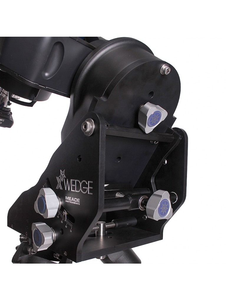 Heavy duty equatorial X-Wedge for fork-mounted Meade SCTs