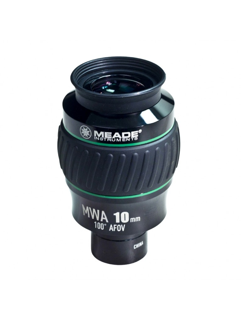 "10mm Mega Wide Angle 100° field 1.25"" eyepiece"