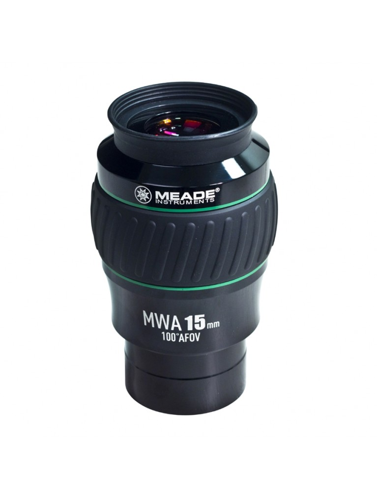 "15mm Mega Wide Angle 100° field 2"" eyepiece"