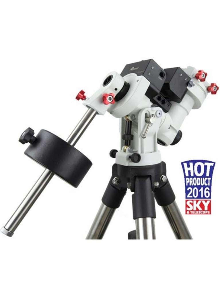 """iOptron CEM25EC Center Balanced Go To Equatorial Mount with High Precision Encoder, Hard Case, and an Upgraded 2"""" Tripod"""