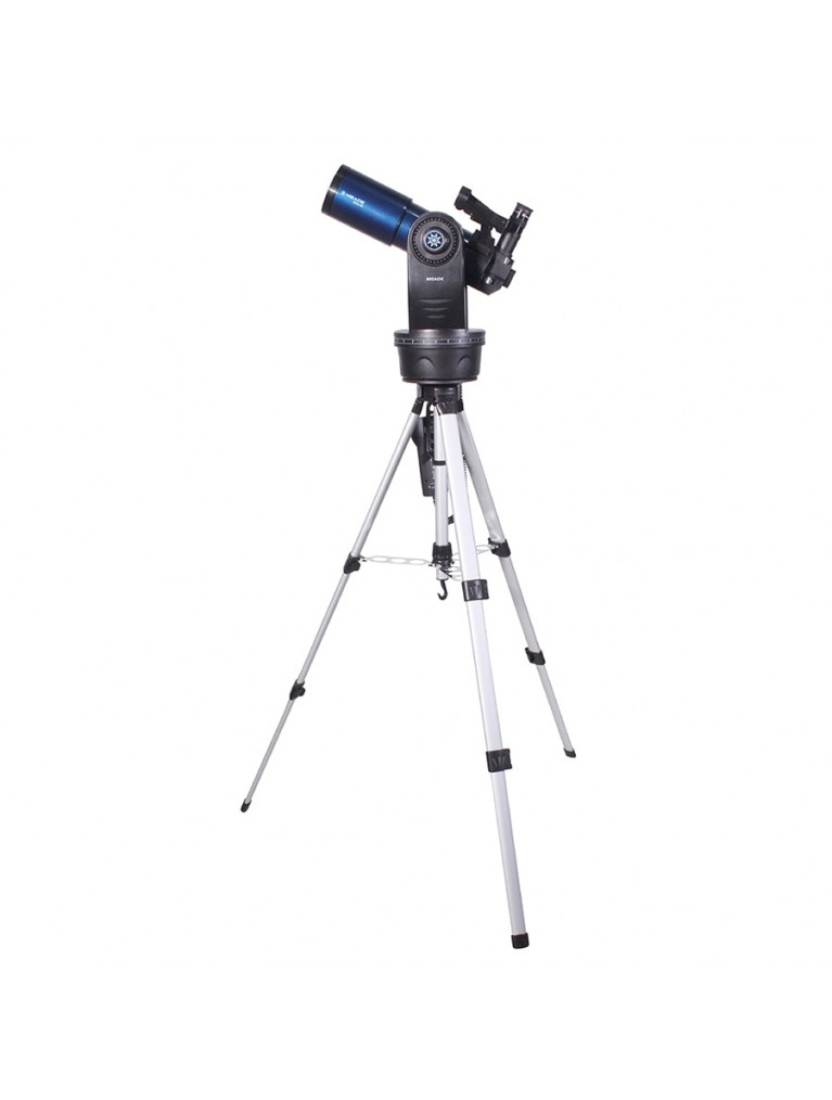 "ETX80 Observer 3.1"" f/5 go-to refractor, tripod, case, and AudioStar computer"