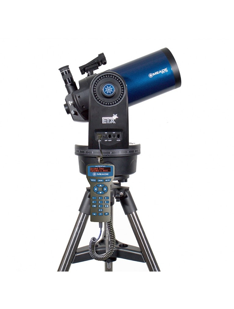 "ETX125 Observer 5"" go-to Maksutov, tripod, and Audiostar computer"