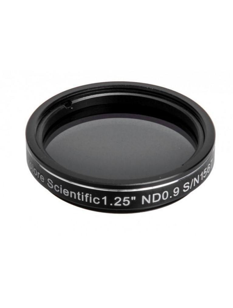 "Explore Scientific 1.25"" 0.9 Neutral Density Filter 13% Transmission"