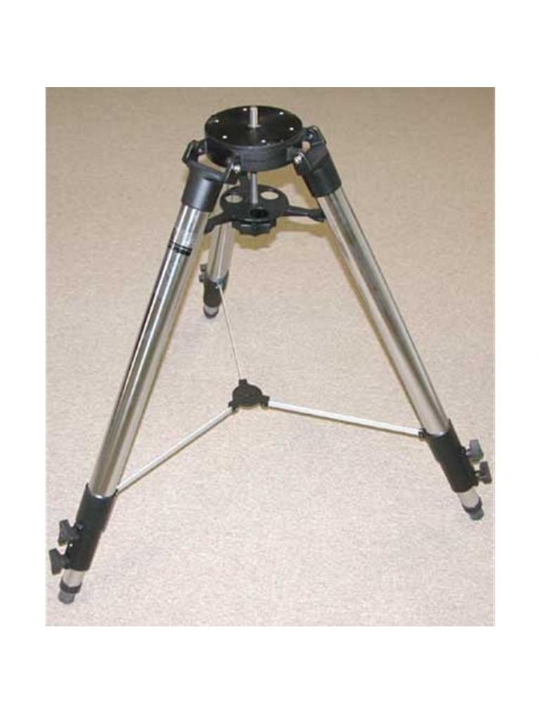 Adjustable height field tripod