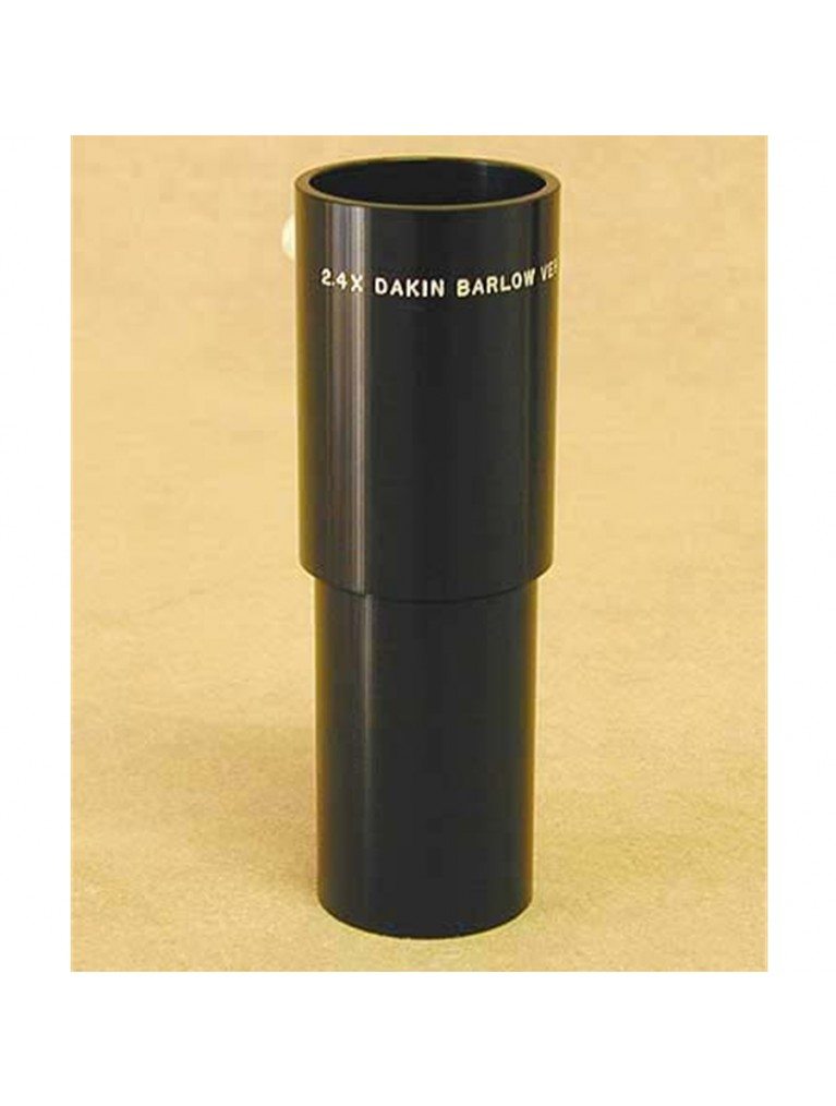"2.4X Dakin Barlow for 1.25"" eyepieces"